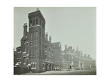 London Fire Brigade Headquarters  Seen from the Street  Southwark  London  C1900-C1935