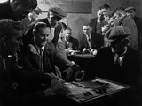 Miners Socialising at the Miners Welfare Club  Horden Colliery  Sunderland  Tyne and Wear  1964