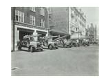 Euston Fire Station  No 172 Euston Road  St Pancras  London  1935