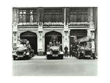 Firemen Outside Bishopsgate Fire Station  Bishopsgate  City of London  1908