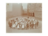 Children Playing Twinkle  Twinkle  Little Star  Flint Street School  Southwark  London  1908