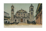 The Cathedral  Havana  Cuba  C1910