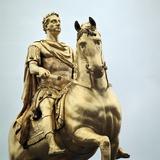 Equestrian Statue of King William Iii  18th Century