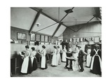 Art Class for Female Students  Battersea Polytechnic  London  1907