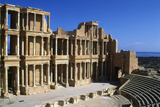 Roman Theatre  Sabratha  Libya  C161-192 Ad