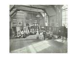 Recitation of the Sick Dolly  Flint Street School  Southwark  London  1908