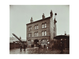 Poplar Fire Station  No 75 West India Dock Road  Poplar  London  1905