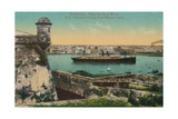 Ss Havana and City from Morro Castle  Havana  Cuba  C1910