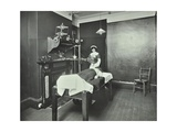 X-Ray Room  Fulham School Treatment Centre  London  1914