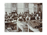 Boys Tailoring Class at Highbury Truant School  London  1908