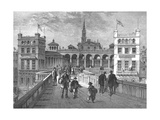 Hungerford Market from the Bridge  1850