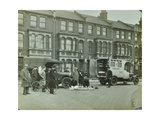 Road Accident  Calabria Road  Islington  London  1925