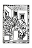 Master with His Students (Christoforo Landino)  1492  (1917)