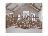 Gymnastic Display at Elm Lodge Residential School for Elder Blind Girls  London  1908