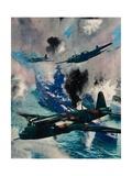 The First British Air Aggressive Action of the War  the Raid on Kiel  1940