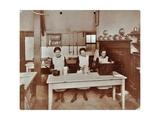Cookery Lesson  Morden Terrace School  Greenwich  London  1908