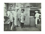 Boys Making Bread at Upton House Truant School  Hackney  London  1908