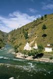 Buddhist Chortens  Chuzom  Bhutan