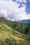 Road from Puntsholing to Paro  Bhutan