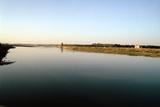 Wide River Tigris  Mosul  Iraq