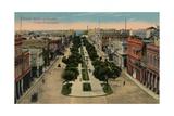 Prado Promenade  Havana  Cuba  1910