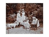 Girls Learning Infant Care  Birley House Open Air School  Forest Hill  London  1908