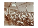 Boys Laying the Phylacteries  Jews Free School  Stepney  London  1908