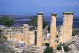 The Temple of Apollo  Cyrene  Libya  6th Century Bc