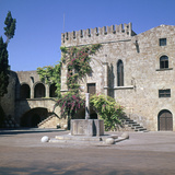 Fountain in the Old Town and Palace of Armeria  14th Century