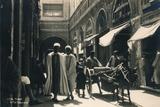 In the Bazaar  Tunis  Egypt  1936