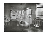 Childrens Isolation Wards  Brook General Hospital  London  1948