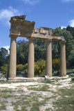 Greek Propylaea  Cyrene  Libya