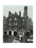 Kentish Town Fire Station  No 3A Fortress Walk  St Pancras  London  1903