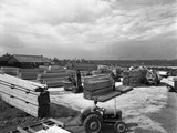 A Busy Timber Yard  Bolton Upon Dearne  South Yorkshire  1960