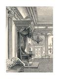 The Throne Room Dublin Castle  1896