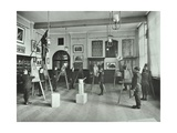 Object Drawing Art Class  Alma Boys School  Bermondsey  London  1908