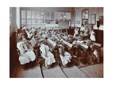 Chemistry Lesson  Albion Street Girls School  Rotherhithe  London  1908