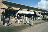 Market or Souks  Samarra  Iraq  1977