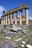 Temple of Zeus  Cyrene  Libya