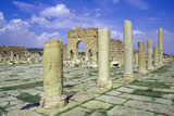 Antonine Gate and Ruined Pillars  Sbeitla  Tunisia