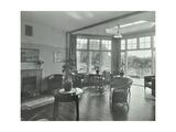 The Sun Lounge at Orchard House  Claybury Hospital  Woodford Bridge  London 1937
