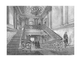 Staircase in Northumberland House  1897