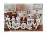 Cricket Team at the Boys Home Industrial School  London  1900