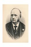 Richard Everard Webster  (1842-1915)  British Barrister  Politician and Judge  1896