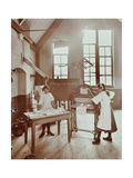 Laundry Work  Tennyson Street School  Battersea  London  1907