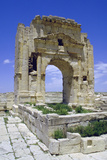 Trojans Arch  Maktar  Tunisia