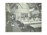 The Ironing Room  Battersea Polytechnic  London  1907