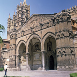 The South Doorway of Palermo Cathedral  12th Century