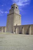 Minaret of the Great Mosque  Kairouan  Tunisia