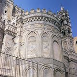 The East Façade of Palermo Cathedral  12th Century